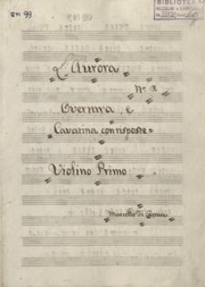 L'Aurora Nr. 3 : Overtura e Cavatina con riposte Marcello di Capua