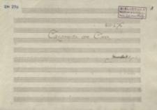 Canzonetta con coro. Allegretto (F-dur)