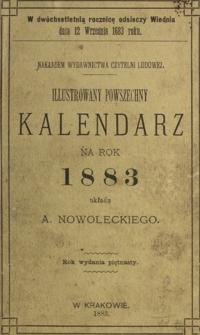 Illustrowany Powszechny Kalendarz dla Wszystkich Stanów na Rok 1883, R. 15
