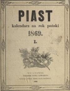 Piast : kalendarz na rok pański 1869