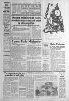 Nowiny : dziennik Polskiej Zjednoczonej Partii Robotniczej. 1982/1983, nr 258, nr 1-25 (grudzień / styczeń)