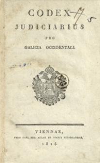 Codex judiciarus pro Galicia occidentali