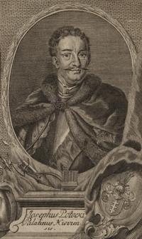 Josephus Potocki Palatinus Kioviensis