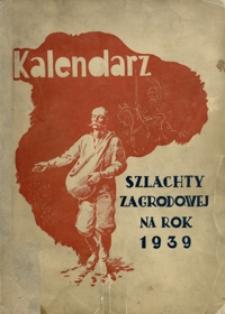 Kalendarz Szlachty Zagrodowej na rok 1939