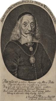 Augustus Buchnerus Poeta et Orator Wittebergensis