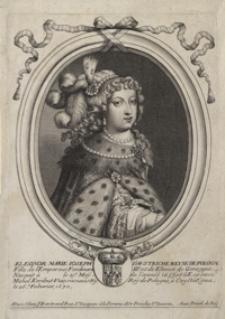 Eleonor. Marie Ioseph D'Austriche Reine de Pologne