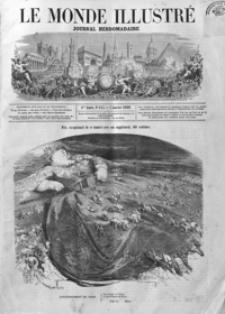 Le Monde Illustré : journal hebdomadaire. T. 6, 1860, R. 4, nr 143-168 (Janvier - Juin)