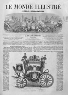 Le Monde Illustré : journal hebdomadaire. T. 7, 1860, R. 4, nr 169-194 (Juillet - Décembre)