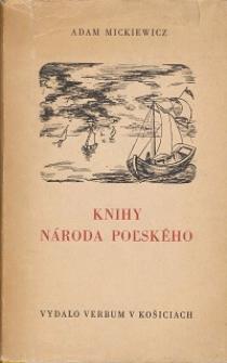 Knihy naroda polskeho a Knihy putnictva polskeho z roku Pana 1832