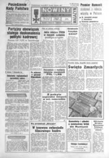 Nowiny : dziennik Polskiej Zjednoczonej Partii Robotniczej. 1985, nr 255-279 (listopad)
