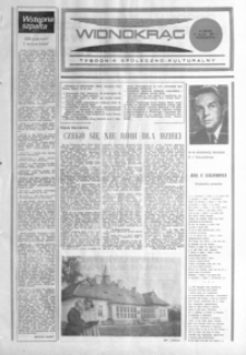 Widnokrąg : tygodnik społeczno-kulturalny. 1985, nr 3 (22 stycznia)