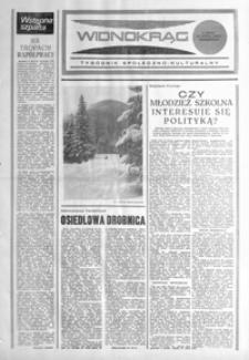 Widnokrąg : tygodnik społeczno-kulturalny. 1985, nr 7 (19 lutego)