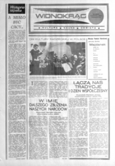 Widnokrąg : kultura, nauka, oświata. 1985, nr 12 (16 kwietnia)