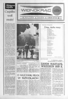 Widnokrąg : kultura, nauka, oświata. 1985, nr 21 (3 września)