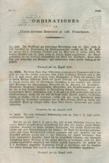 Ordinationes Ad Clerum Curatum Dioeceseos Gr. Cat. Premisliensis. Nro V