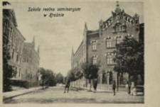 Szkoła realna seminarium w Krośnie [Pocztówka]