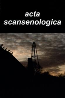 Acta Scansenologica. 2005, T. 9