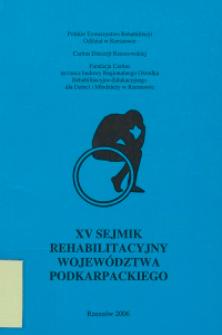XV Wojewódzki Sejmik Rehabilitacyjny