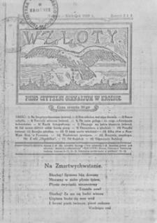 Wzloty : pismo Czytelni Gimnazjum w Krośnie. 1929, R. 2, Z. 3-4 (marzec-kwiecień)