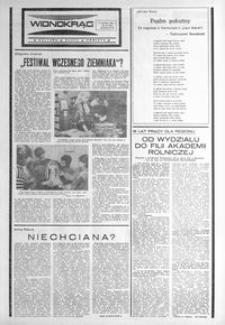 Widnokrąg : kultura, nauka, oświata. 1987, nr 22 (9 czerwca)