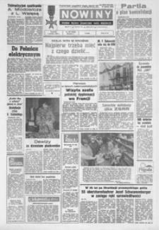 Nowiny : dziennik Polskiej Zjednoczonej Partii Robotniczej. 1988/1989, nr 279-303 (grudzień / styczeń)