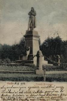 Jasło. Pomnik Kościuszki [Pocztówka]