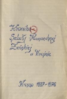 Kronika Szkoły Powszechnej Żeńskiej w Krośnie : 1927-1976