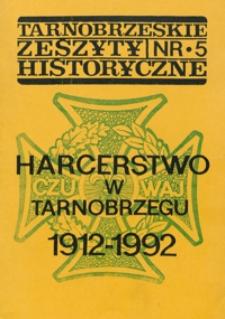 Tarnobrzeskie Zeszyty Historyczne. 1993, nr 5 (styczeń)