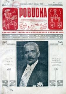 Pobudka : czasopismo społeczno-gospodarcze Podkarpacia. 1938, R. 4, nr 3 (luty)