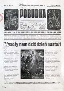 Pobudka : czasopismo społeczno-gospodarcze Podkarpacia. 1938, R. 4, nr 8 (kwiecień)