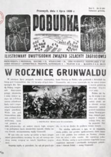 Pobudka : ilustrowany dwutygodnik Związku Szlachty Zagrodowej. 1939, R. 5, nr 13-14 (lipiec)