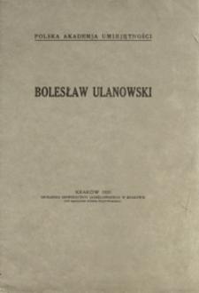 Bolesław Ulanowski