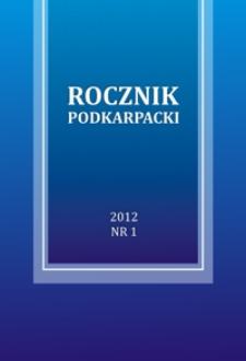 Rocznik Podkarpacki. 2012, nr 1