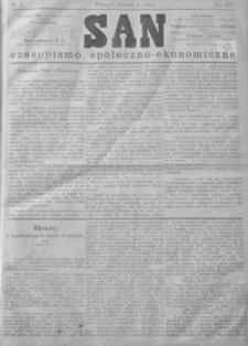 San : czasopismo społeczno-ekonomiczne. 1879, nr 5-8 (luty)