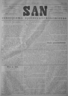 San : czasopismo społeczno-ekonomiczne. 1879, nr 22-26 (czerwiec)