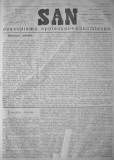 San : czasopismo społeczno-ekonomiczne. 1879, nr 31-35 (sierpień)