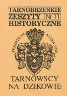 Tarnobrzeskie Zeszyty Historyczne. 1995, nr 11 (grudzień)