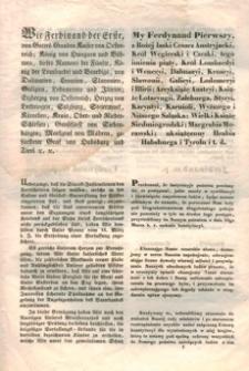 Ustawa Konstytucyi austryjackiego cesarstwa
