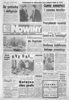 Nowiny : gazeta codzienna. 1990/1991, nr 247-264 (grudzień / styczeń)