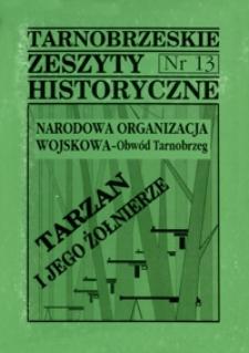 Tarnobrzeskie Zeszyty Historyczne. 1996, nr 13 (październik)