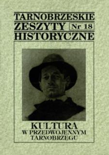 Tarnobrzeskie Zeszyty Historyczne. 1998, nr 18 (maj)