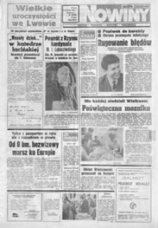 Nowiny : gazeta codzienna. 1991, nr 63-84 (kwiecień)