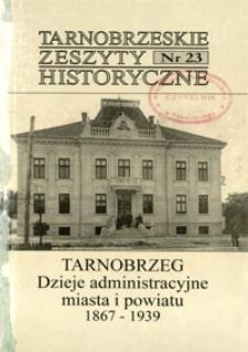 Tarnobrzeskie Zeszyty Historyczne. 2003, nr 23 (grudzień)
