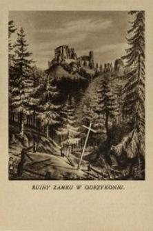 Ruiny Zamku w Odrzykoniu [Pocztówka]