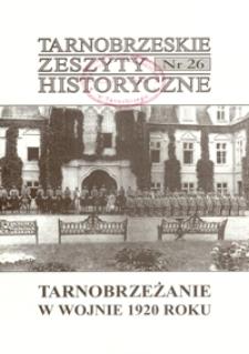 Tarnobrzeskie Zeszyty Historyczne. 2005, nr 26 (sierpień)