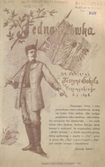 Jednodniówka Sokoła : na pamiątkę festynu Sokoła Przemyskiego 3. 7. 1898