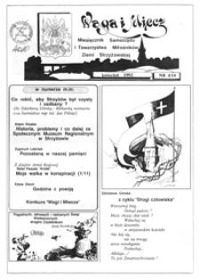 Waga i Miecz : miesięcznik Samorządu i Towarzystwa Miłośników Ziemi Strzyżowskiej. 1992, [R. 2], nr 4 (kwiecień)
