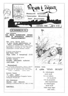Waga i Miecz : miesięcznik Samorządu i Towarzystwa Miłośników Ziemi Strzyżowskiej. 1992, [R. 2], nr 6 (czerwiec)