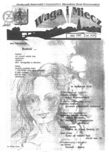 Waga i Miecz : miesięcznik Samorządu i Towarzystwa Miłośników Ziemi Strzyżowskiej. 1993, [R. 3], nr 2 (luty)