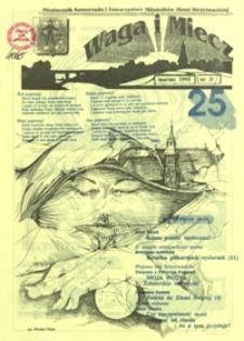 Waga i Miecz : miesięcznik Samorządu i Towarzystwa Miłośników Ziemi Strzyżowskiej. 1993, [R. 3], nr 3 (marzec)